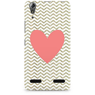 CopyCatz Chevron Heart Premium Printed Case For Lenovo A6000