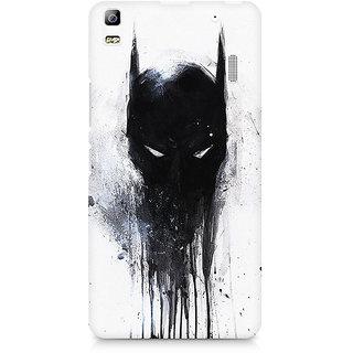 CopyCatz Fading Batman Mask Premium Printed Case For Lenovo A7000