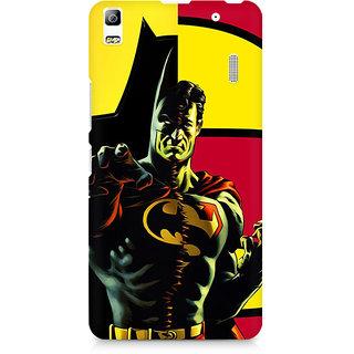 CopyCatz Batman within Superman Premium Printed Case For Lenovo A7000