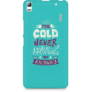 CopyCatz Cold Never Bothered Me Premium Printed Case For Lenovo A7000