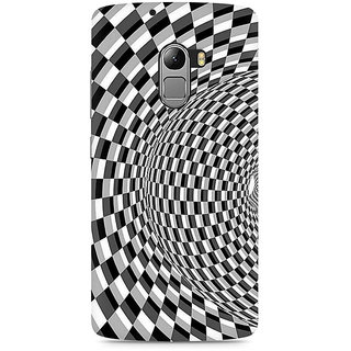 CopyCatz Illusion Checks Premium Printed Case For Lenovo K4 Note