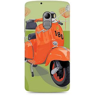 CopyCatz Orange Vespa Premium Printed Case For Lenovo K4 Note
