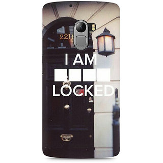 CopyCatz Sher Lock Premium Printed Case For Lenovo K4 Note