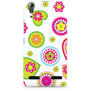 CopyCatz Ethnic Hearts Premium Printed Case For Lenovo A6000