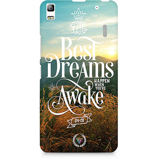 CopyCatz The Best Dreams Premium Printed Case For Lenovo A7000