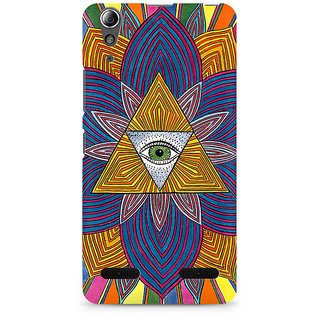 CopyCatz The Eye Premium Printed Case For Lenovo A6000