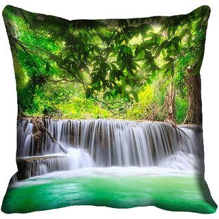meSleep Nature Digitally Printed Cushion Cover (12x12)
