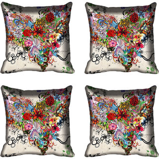 meSleep Abstract Digitally Printed Cushion Cover (20x20)