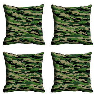 meSleep 3D Green Cushion Cover (12x12)