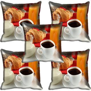 meSleep Tea Cup Digitally Printed Cushion Cover (20x20)