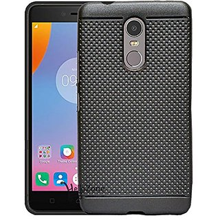Lenovo K6 Note Dotted Silicon Soft Back Case Cover