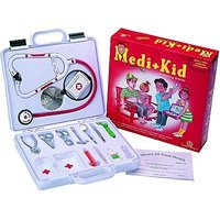 Zephyr Medi Kid Medical Kit Toy Game Kids Play Pretend To Be A Doctor Children