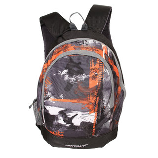 Justcraft Apple Black and Wld Ornage Collage Backpack