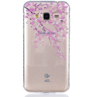 CopyCatz Golden Honeycomb Premium Printed Case For Samsung J3