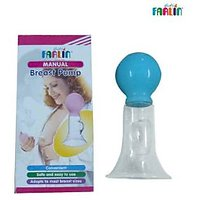 Farlin Manual Plastic Breast Pump - BF 638P -BLUE