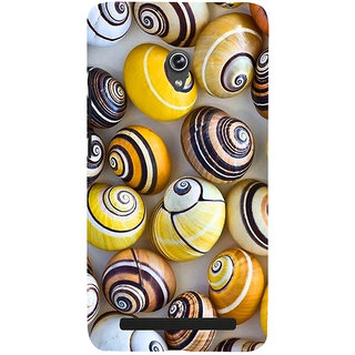 Snapdilla Artistic Modern Art Colourful Snail Shell Pattern Beach Cell Cover For Asus Zenfone 6 A600CG