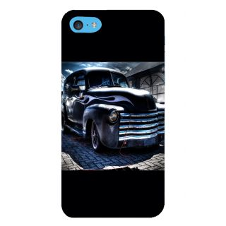 Snapdilla Stylish Looking Blue Color Classic Vintage Car Simple Amazing Heart Touching Best Cell Cover For Apple IPod Touch 6