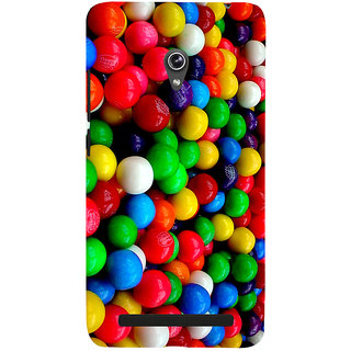 Snapdilla Awesome Pretty Looking Multi Colour Ball Pattern Ping Pong Balls Differet Phone Case For Asus Zenfone 6 A600CG