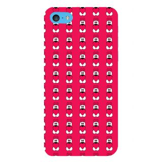 Snapdilla Valentine Clipart Pink Color Cartoon Pattern Girl Phone Case For Apple IPod Touch 6