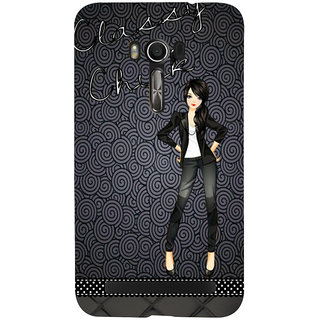 Snapdilla Unique Pattern Clipart Modern Trendy Fashion Cartoon Girl Cell Cover For Asus Zenfone Go ZC500TG
