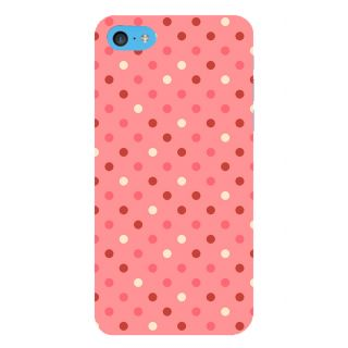 Snapdilla Artistic Modern Art Pink Background Dot Pattern Fantastic Awesome Girly Mobile Case For Apple IPod Touch 6