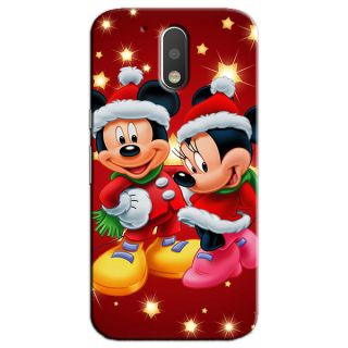 CARTOON BACK COVER FOR MOTOROLA MOTO G4 PLUS