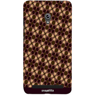 Snapdilla Artistic Floral Hearts Pattern Gorgeous Trendy Stylish Latest Designer Case For Asus Zenfone 6 A600CG