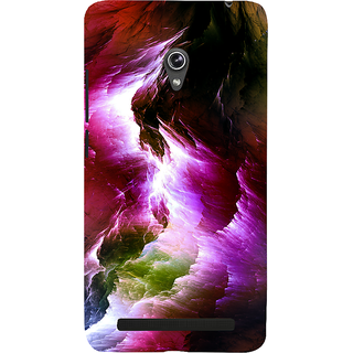 Snapdilla Artistic Colorful Thunderstorm Modern Art Painting Latest Beautiful Cell Cover For Asus Zenfone 6 A600CG