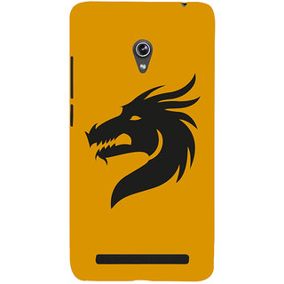 Snapdilla Cool Crazy Chinese Art Clipart Crazy Dragon Tattoo Smartphone Case For Asus Zenfone 6 A600CG