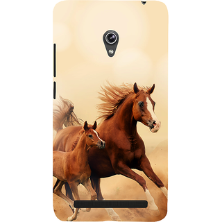 Snapdilla Beautiful Running Horse Royal Hd Print Creative Phone Case For Asus Zenfone 6 A600CG