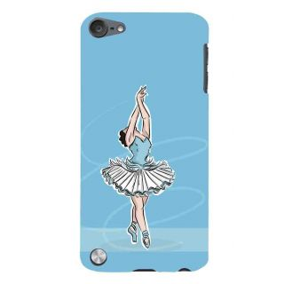 Snapdilla Sexy Beautiful Girl Artistic Ballet Dance Form Modern Painting Blue Color Mobile Case For Apple IPod Touch 5