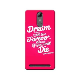 DREAM BACK COVER LENOVO K5 NOTE