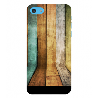 Snapdilla Multi Colour Artistic Wood Pattern Simple Awesome Designer Case For Apple IPod Touch 6