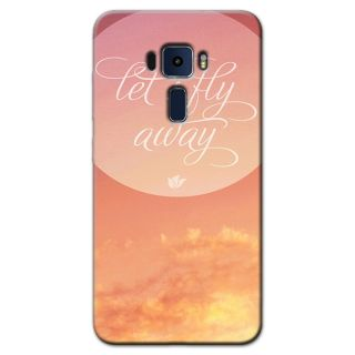 LETS FLY AWAY BACK COVER FOR ASUS ZENFONE 3 5.2
