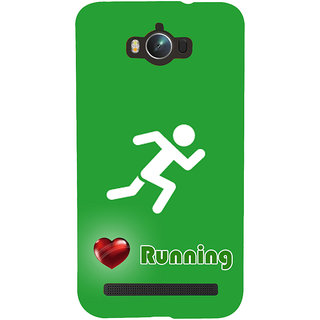 Snapdilla Runner Sign  Traditional Sports Lovers Fitness Freak Cell Cover For Asus Zenfone Max ZC550KL :: Asus Zenfone Max ZC550KL 2016 :: Asus Zenfone Max ZC550KL 6A076IN