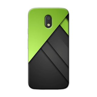 GREEN DIGITAL BACK COVER FOR MOTOROLA MOTO E3 POWER
