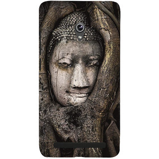 Snapdilla Devotional Spiritual Lord Gautama Buddha Religious Peaceful Mobile Cover For Asus Zenfone 6 A600CG