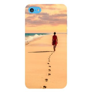 Snapdilla Awesome Sunset Beach Walk Scenery Superb Beautiful Phone Case For Apple IPod Touch 6