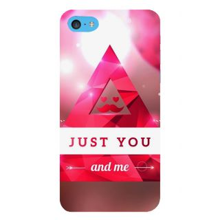 Snapdilla Pink Color Just Married You And Me Quote Gift For Girlfriend Smartphone Case For Apple IPod Touch 6