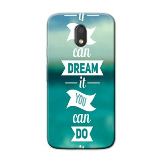 DREAM BACK COVER FOR MOTOROLA MOTO E3 POWER