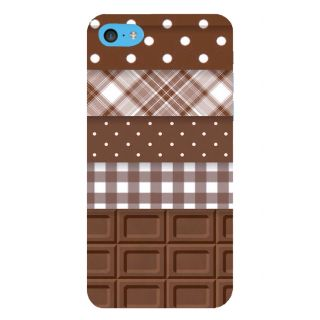 Snapdilla Dark Chocolate Pattern Choco Lovers Simple Good Looking Cell Cover For Apple IPod Touch 6