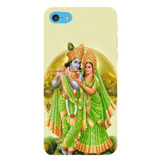 Snapdilla Modern Artistic Simple Plain Radha Krishna Spiritual Devotional Mobile Pouch For Apple IPod Touch 6
