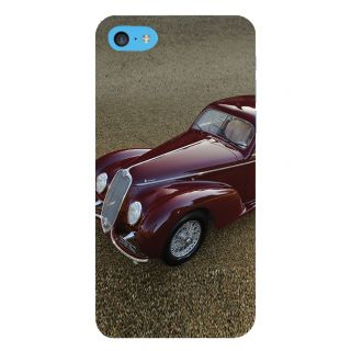 Snapdilla Stylish Red Color Vintage Car Incredible Classic Car Mobile Pouch For Apple IPod Touch 6