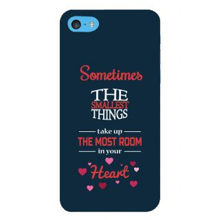 Snapdilla Smallest Things Take Most Room In Your Heart Quote Superb Mobile Case For Apple IPod Touch 6