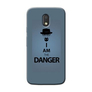 I AM DANGER  BACK COVER FOR MOTOROLA MOTO E3 POWER