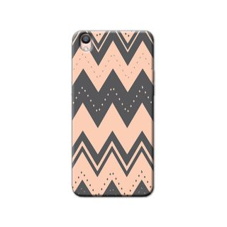 AZTEC PEACH BACK COVER FOR OPPO F1 PLUS