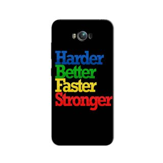 HARDER BETTER FASTER STRONGER BACK COVERFOR ASUS ZENFONE MAX  ZC550KL