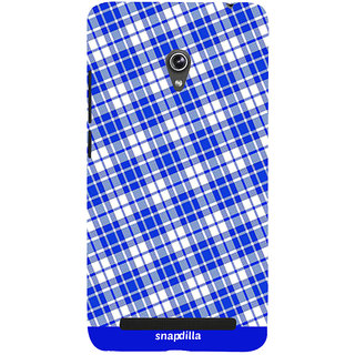 Snapdilla Checkered Cool Looking Stripes Pattern Simple Crazy Different 3D Print Cover For Asus Zenfone 6 A600CG