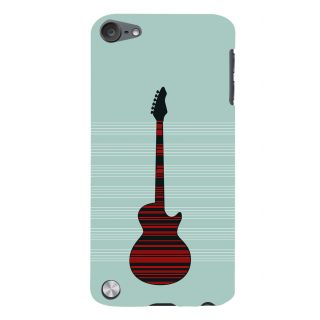 Snapdilla Modern Art Acoustic Guitar Music Lovers Artistic Cell Cover For Apple IPod Touch 5
