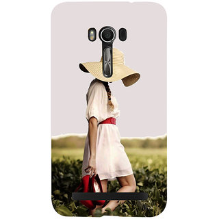 Snapdilla Cute Vogue Girl Red Heels Trendy Fashion Nature Walk 3D Print Cover For Asus Zenfone Go ZC500TG